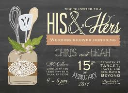Couple Wedding Shower Invitations Couples Shower Invitation His And Hers Couples Shower
