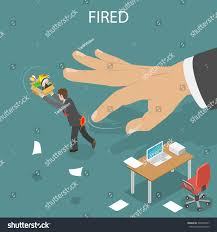 Getting Fired Isometric Flat Low Poly Stock Illustration 539870467
