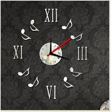 upscale living room decorative wall stickers acrylic wall clock