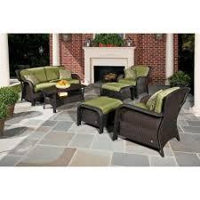 <b>6</b>-<b>Piece</b> - <b>Outdoor Lounge</b> Furniture - Patio Furniture - The Home ...