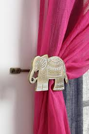 etched elephant curtain tie back urbanouters