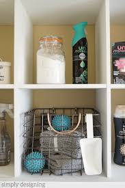 how to decorate a laundry room simply