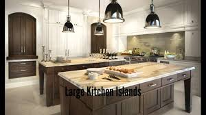 Large Kitchen Large Kitchen Islands Youtube