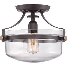 best foyer lighting. quoizel uptown penn station western bronze semiflushmount flush mount kitchen lightingentryway best foyer lighting