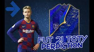 FIFA 21 | TOTY prediction | ft. Ronaldo, van Dijk, de Jong... (new toty  prediction uploaded!) - YouTube