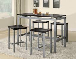 Kitchen Table Free Form Small High Top Granite Storage 2 Seats Maple