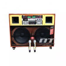 Dàn karaoke gia đình giá rẻ cao cấp - Loa kéo điện công suất lớn JBL 1004 -  Thùng loa di động bass 40 đôi [ 4 tấc đôi ]