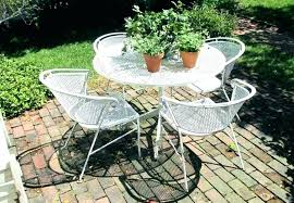 outdoor table and 4 chairs white metal garden table metal patio table patio ideas patio table outdoor table