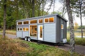 mobile tiny houses. Exellent Tiny Groovy New Tiny House With FullSize Appliances Can Sleep 8  Living  Curbed National For Mobile Houses