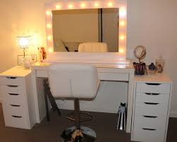 vanity with lights around mirror. hollywood mirror ikea vanity with lights lightupmyparty decoration ideas design around e