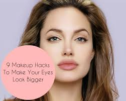 makeup to make eyes look bigger 9 makeup hacks to make your eyes look bigger