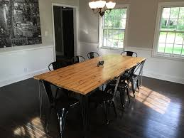 reclaimed dining room table. Introduction: Dining Room Table From Reclaimed Wall Studs T