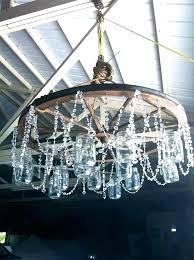 wagon wheel chandelier with mason jars wagon wheel light fixtures wagon wheel lamp chandelier wagon wheel