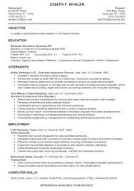 College Student Resume For Internship Cool Download Business