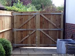 secure back garden gate lancing