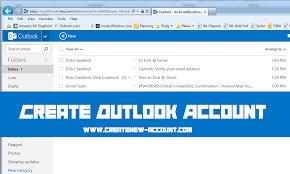 Create Outlook Create Account Outlook Create New Account