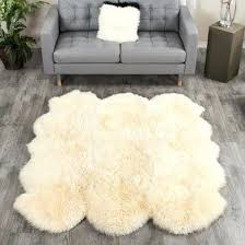 lambskin rug large champagne sheepskin 6 pelt ft cleaning service baby nz best for