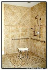 handicap shower design handicap accessible shower designs