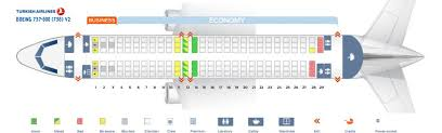 Boeing 737 900 Seating Chart Delta Turkish Airlines Fleet Boeing 737 800 Details And Pictures