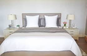 steps to making a beautiful bed gray velvet quilt and shams white serena  and lilly duvet