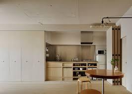 Japanese Kitchen Design Tokyo Apartment By Minorpoet Features Kitchen Hidden Behind