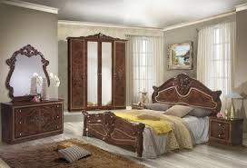 Barock Schlafzimmer Set Walnuss Malfi 4 Teilig In Klassischem Stil