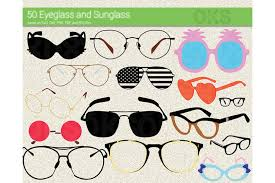 Downloadable svg file for cricut cutter and other uses! Eyeglasses Sunglasses Vector Graphic By Crafteroks Creative Fabrica
