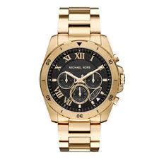 michael kors brecken gold tone chronograph men s watch 0104345 michael kors brecken gold tone chronograph men s watch