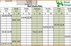 Daily Schedule Maker App Chartreusemodern Com