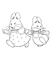 Small Picture Printable Max and Ruby Coloring Pages Coloring Me
