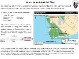 Charts And Maps Dead Horse How To Use The Index Grid Maps