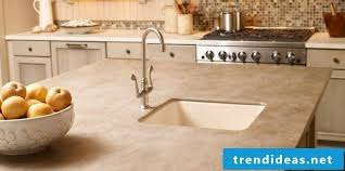 worktop corian countertop cream