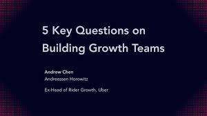Define Team Leader How To Build A Growth Team Lessons From Uber Hubspot And