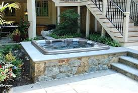 above ground hot tub design dc hot tub above ground pool and hot tub deck ideas