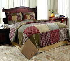 king size quilt sets quilts bedding country set by heartland green red tan king size quilt sets