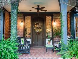 Rustic Farm And Gardenstyle Front Door Decor HGTV Magnificent Home And Garden Design Style