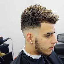 cool short curly men s haircut shape up bald fade
