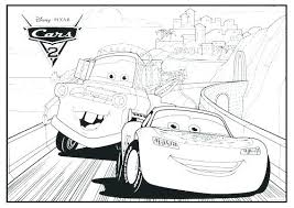 Lightning Mcqueen Color Pages Lightning Coloring Pages Lightning