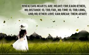 Cute Long Distance Relationship Quotes With Hd Images Long