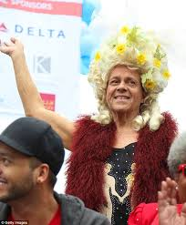 richard simmons sweat band. simmons is seen taking part in the 29th annual aids walk la october 2013, richard sweat band a