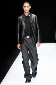 dunhill emporio armani classic leather jacket