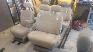 leather set captain seat swivel double bench big triple vw t4 t5 transit cer