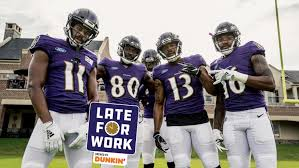 Late For Work 8 1 Ravens Receivers Ranked Last In Nfl By Espn