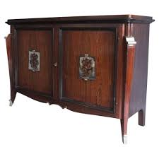 A Fine French Art Deco Rosewood Buffet Bar