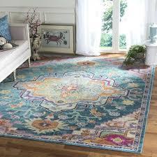 bungalow rose estrel area rug teal