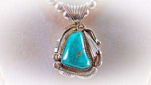details about vintage navajo charleston dr sterling silver turquoise pendant
