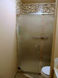 etched glass bathroom doors luxury frameless frosted glass shower doors image collections doors