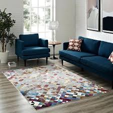 lavendula triangle mosaic 4x6 area rug contemporary modern 4x6 area rugs 4x6 area rugs canada