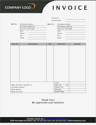 Microsoft Word Invoice Invoice Template Microsoft Word Pdf Format Business Document 22