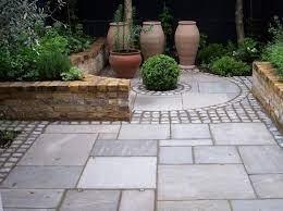 patio garden garden paving
